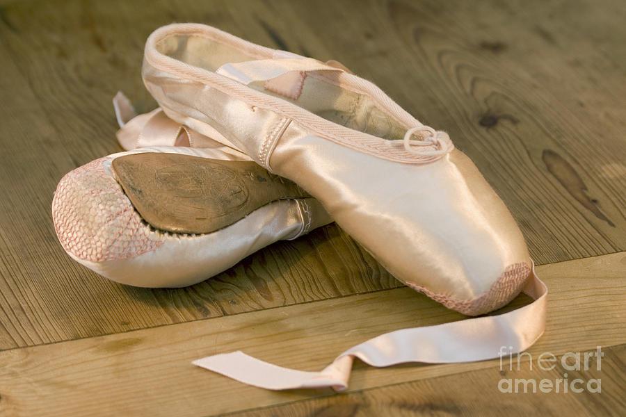 Art Photograph - Ballet Shoes by Jane Rix