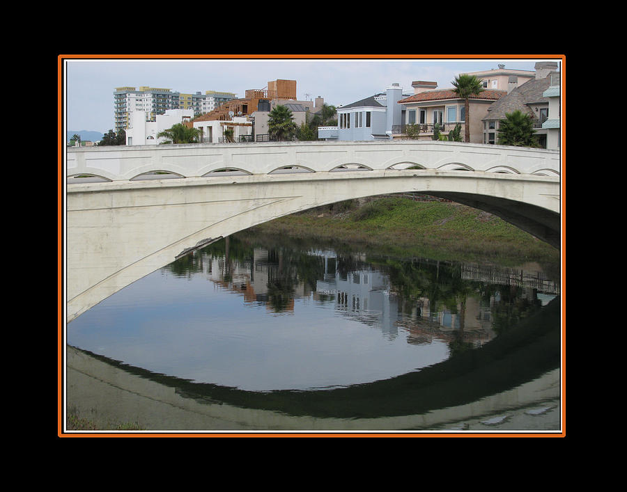 Ballona Creek Bridge Photograph  - Ballona Creek Bridge Fine Art Print