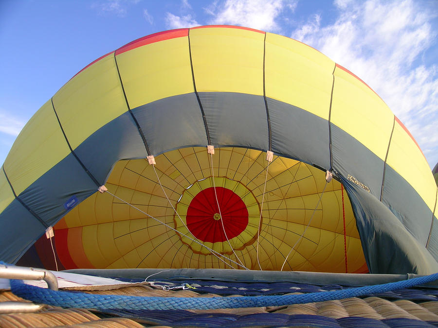 Balloon Inflation Photograph