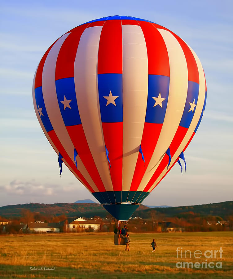 Balloon Landing Photograph