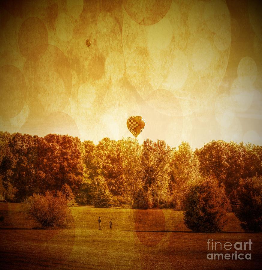 Balloon Nostalgia Photograph