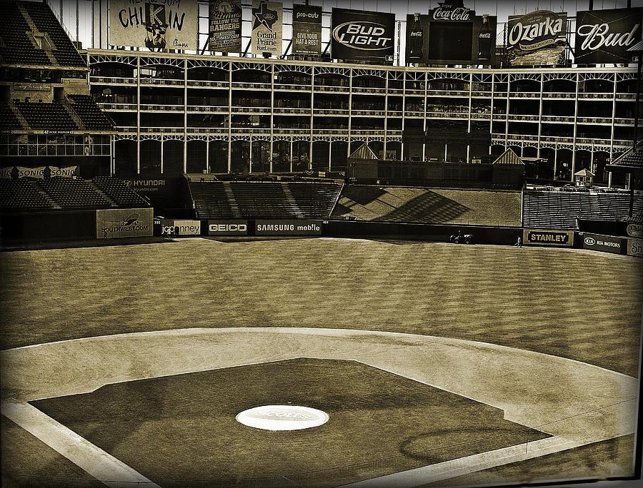 Ballpark Grunge Photograph