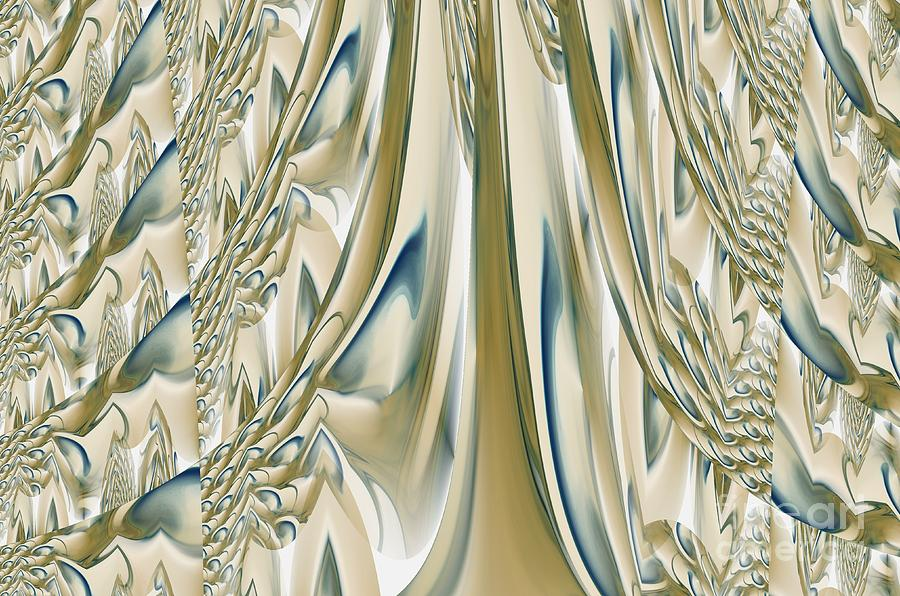 Ballroom Gown Digital Art  - Ballroom Gown Fine Art Print