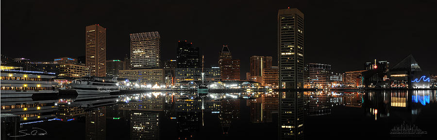 Baltimore Harbor Photograph  - Baltimore Harbor Fine Art Print