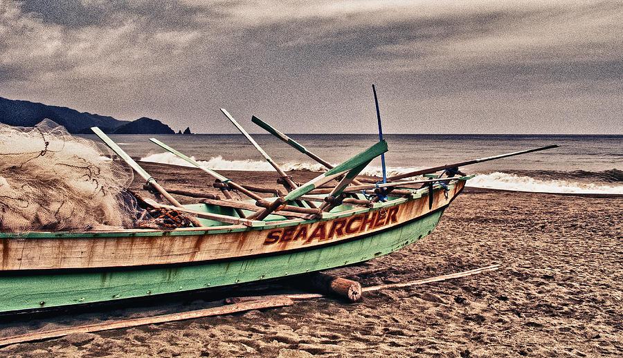 Afternoon Photograph - Banca Boat 2 by Skip Nall