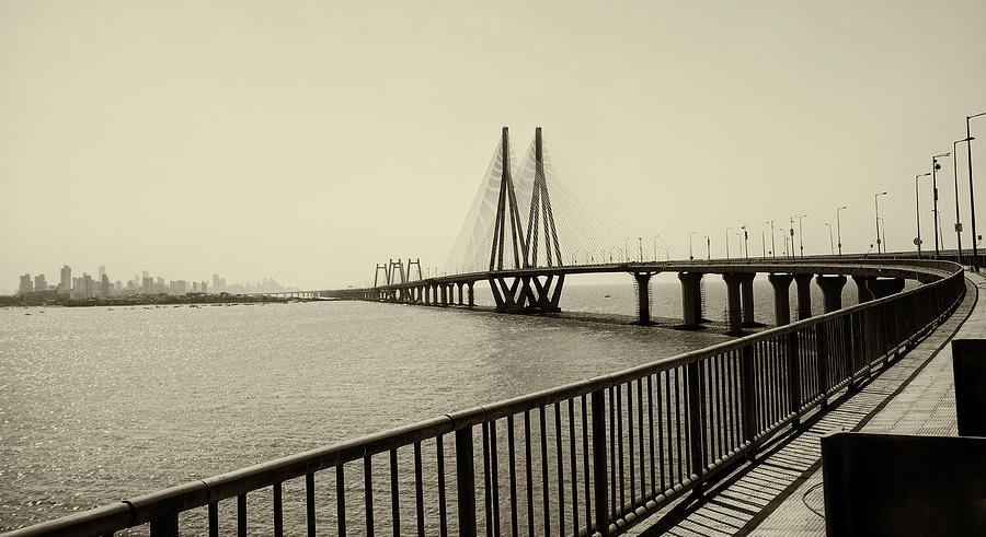 Bandra Worli Sea Link Photograph  - Bandra Worli Sea Link Fine Art Print