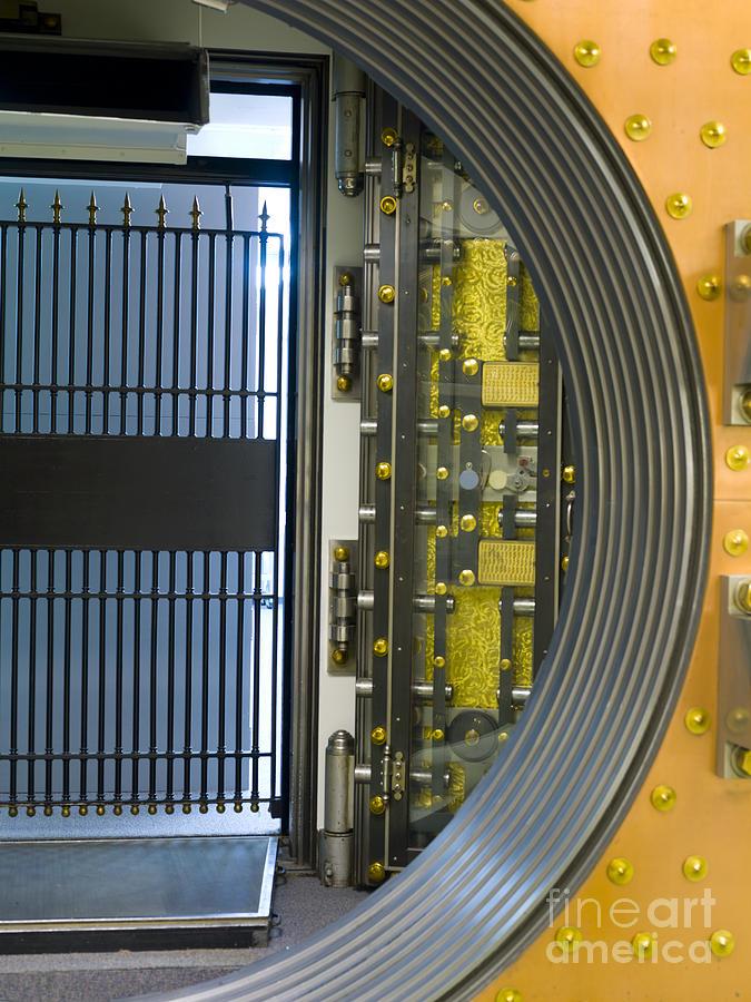 Bank Vault Doors Photograph