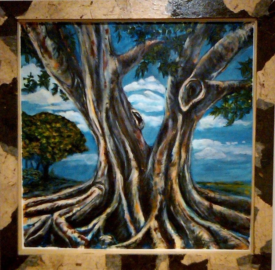Banyan Tree Painting Banyan Tree Painting