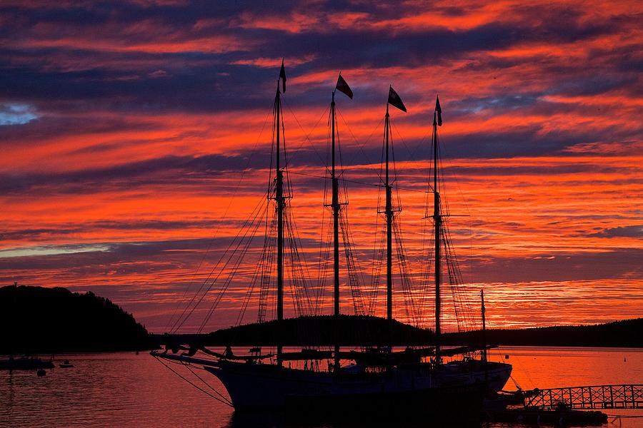 Bar Harbor Sunrise Photograph