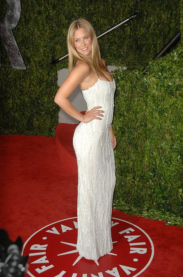 Bar Refaeli At Arrivals For Vanity Fair Photograph  - Bar Refaeli At Arrivals For Vanity Fair Fine Art Print