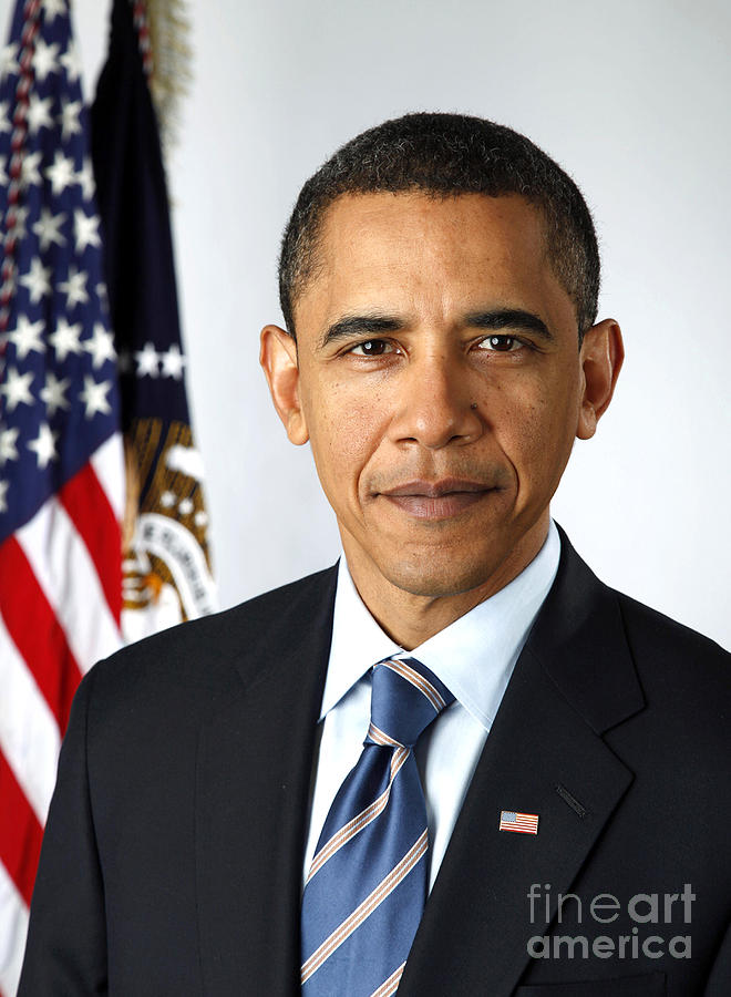 Barack Obama (1961- ) Photograph  - Barack Obama (1961- ) Fine Art Print