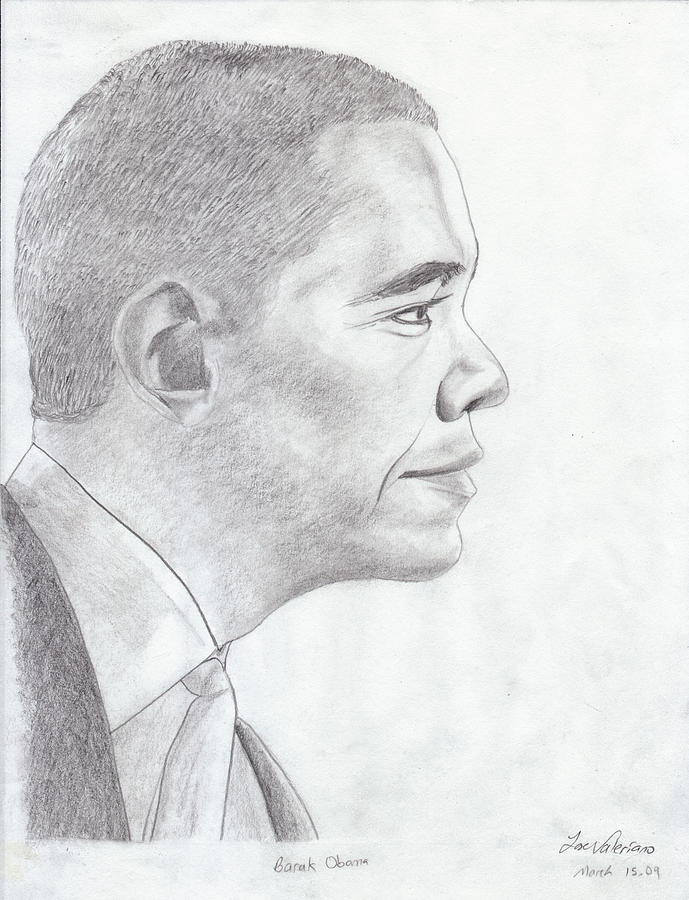 Barak Obama Drawing