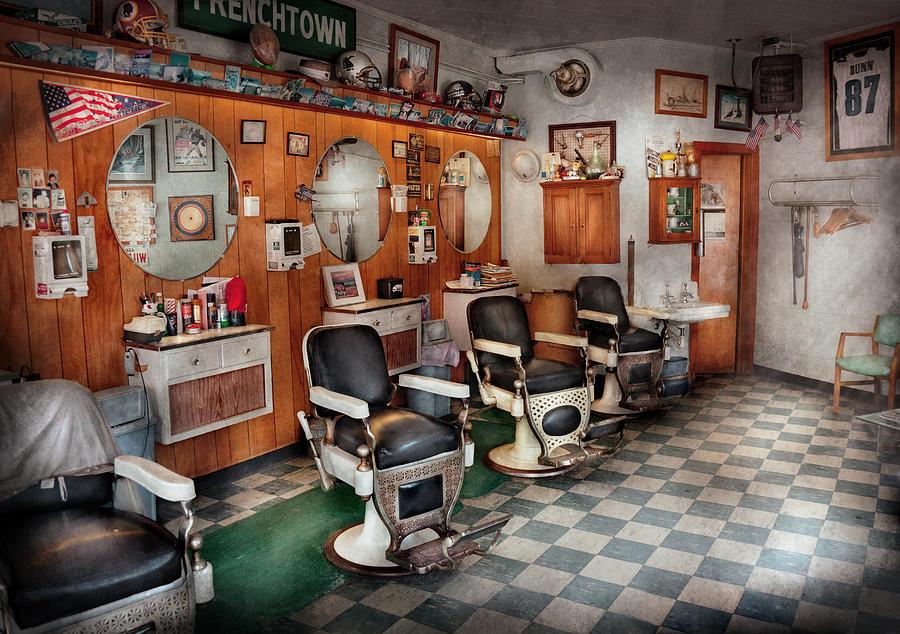 Barber Art : Barber Artwork Barbers Fine Art Print