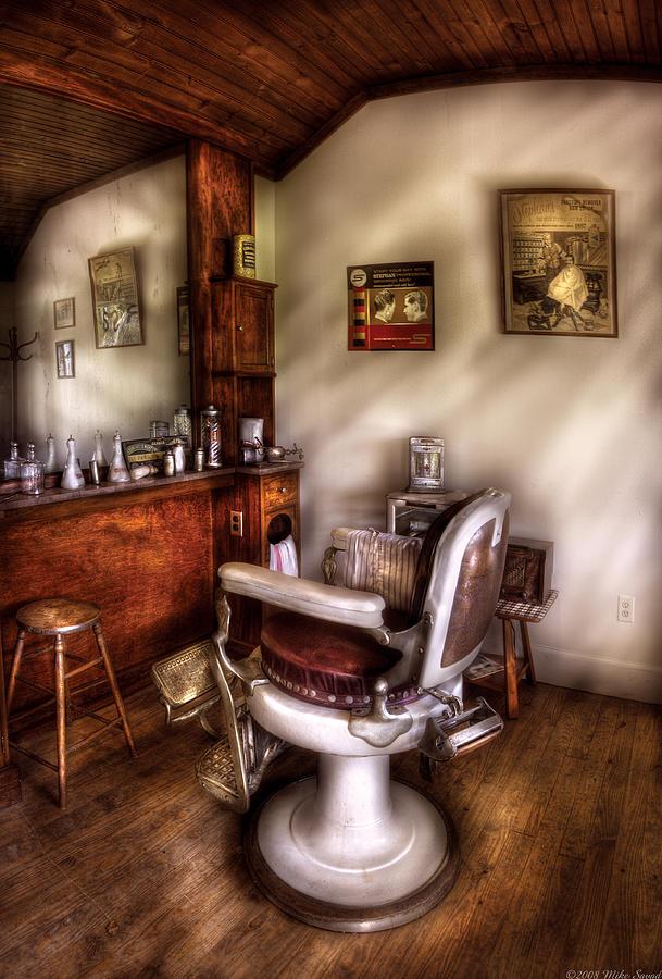 Barber Shop Art Barber - in the barber shop