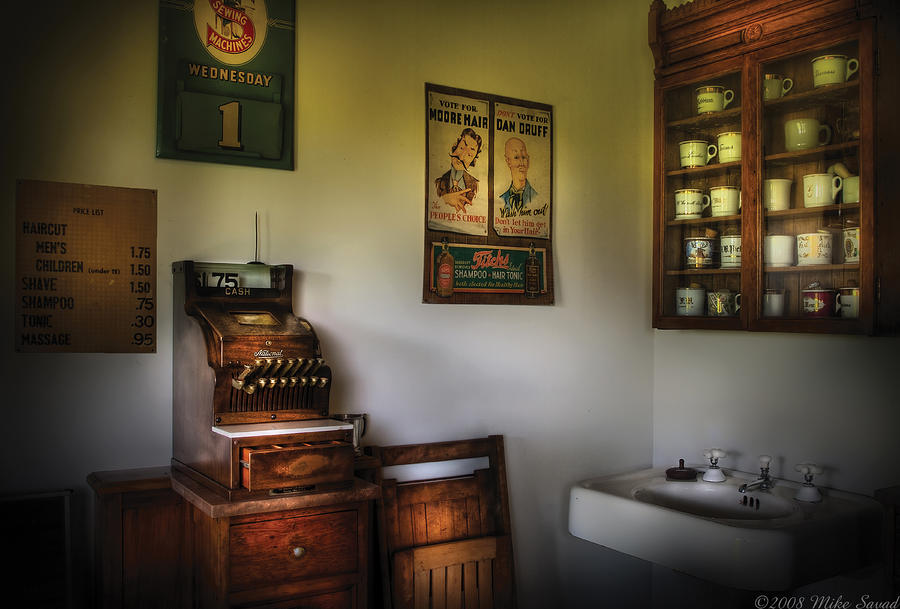 Barber - The Cash Register  Photograph