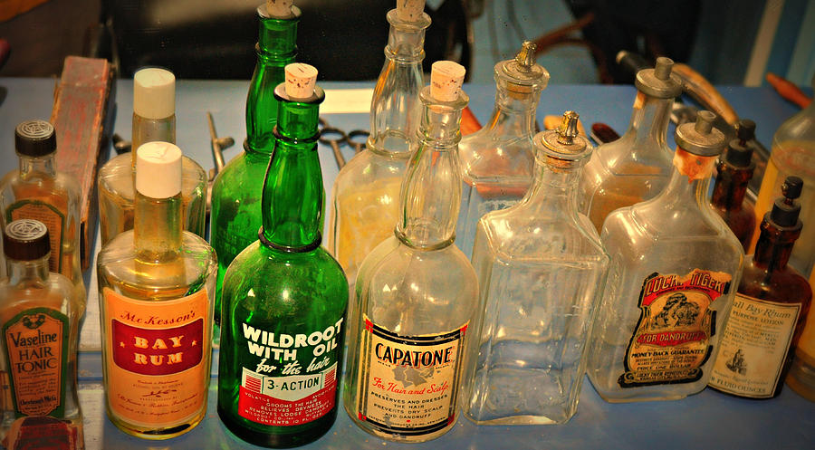 Barber Bottles Photograph