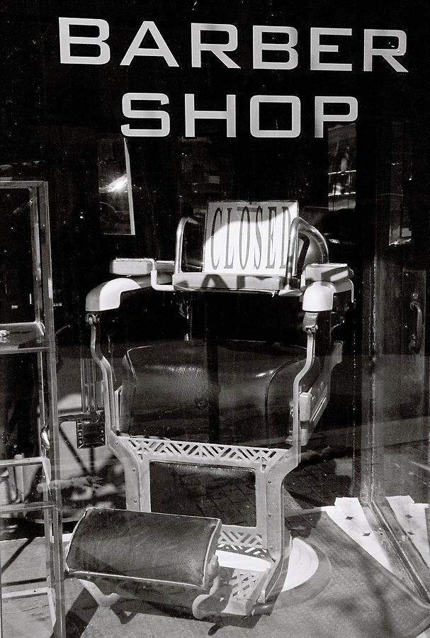 Barber Shop Window by Filipe N Marques