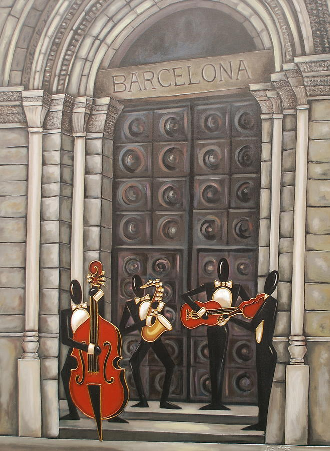 Barcelona Painting
