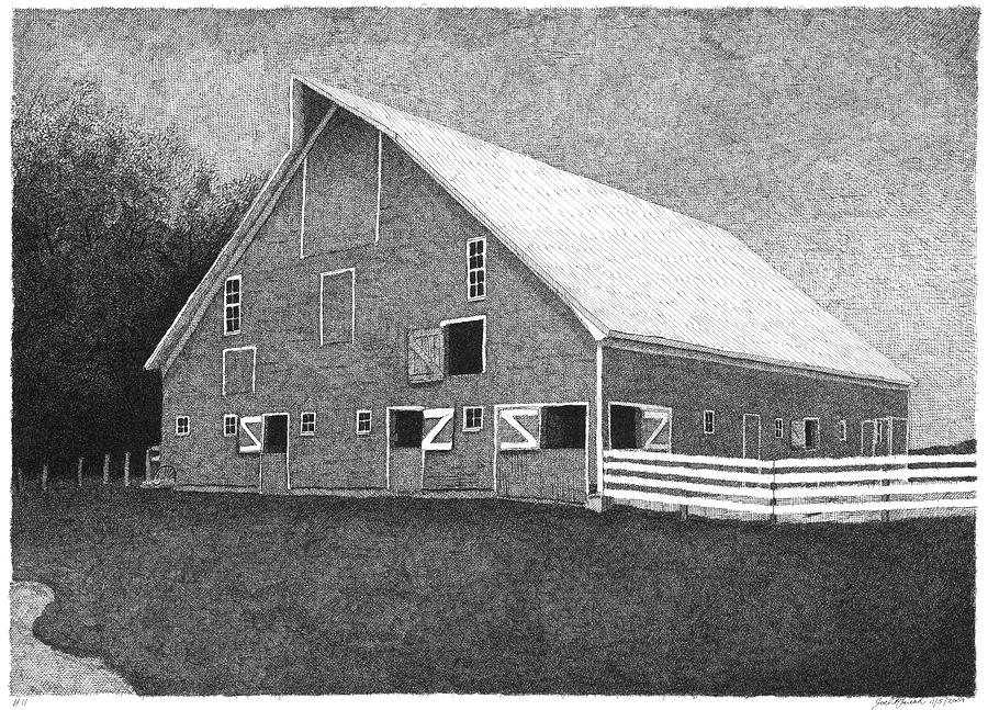 Barn 11 Drawing