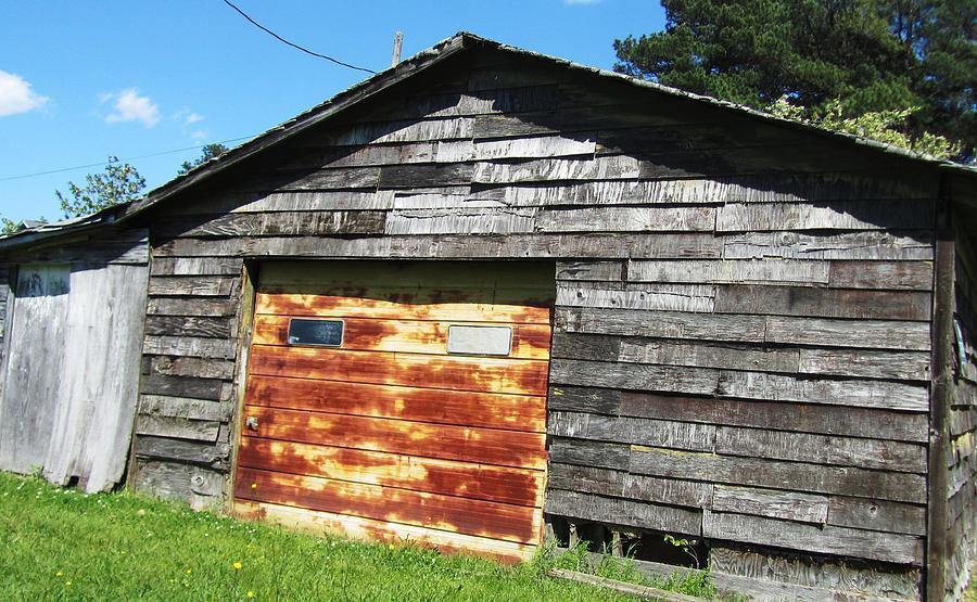 Old Rusty Barn Photograph - Barn-13 by Todd Sherlock