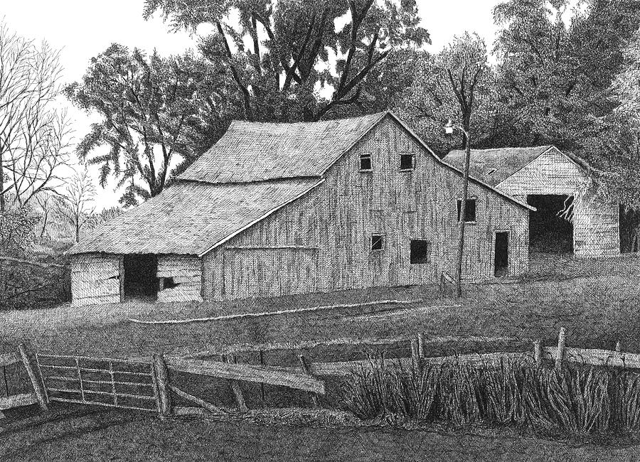 Barn 14 Drawing