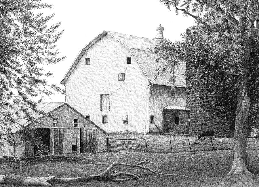 Barn 23 Drawing