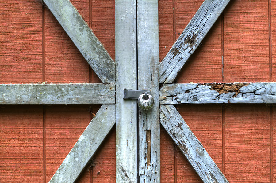 Barn Door 1 Photograph  - Barn Door 1 Fine Art Print