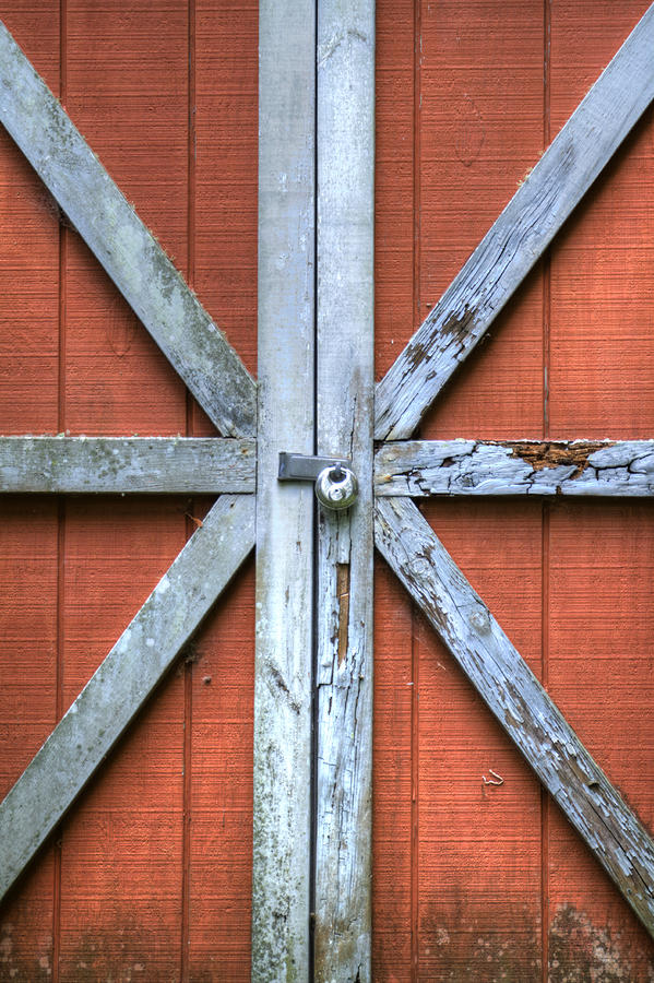 Barn Door 2 Photograph  - Barn Door 2 Fine Art Print