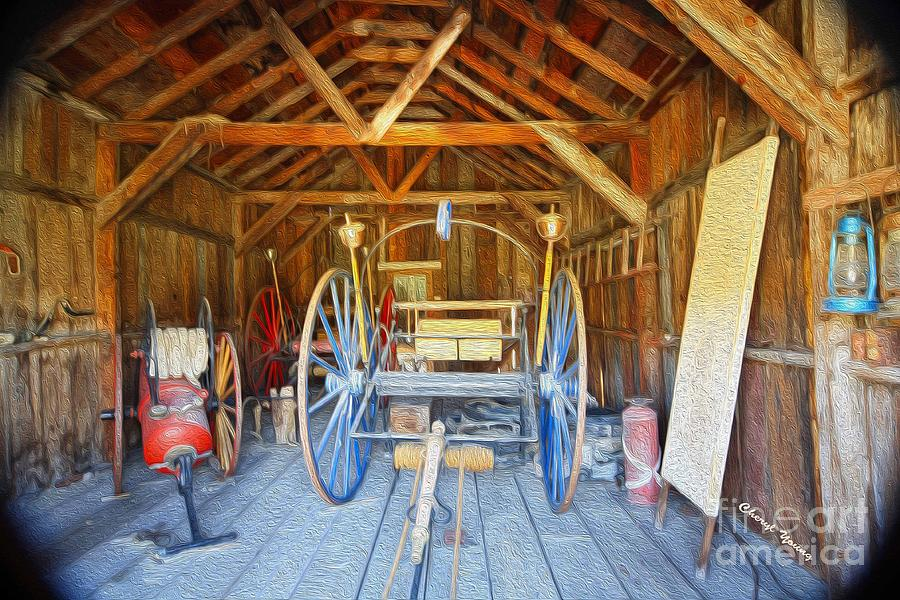 Barn Treasures 2 Photograph  - Barn Treasures 2 Fine Art Print
