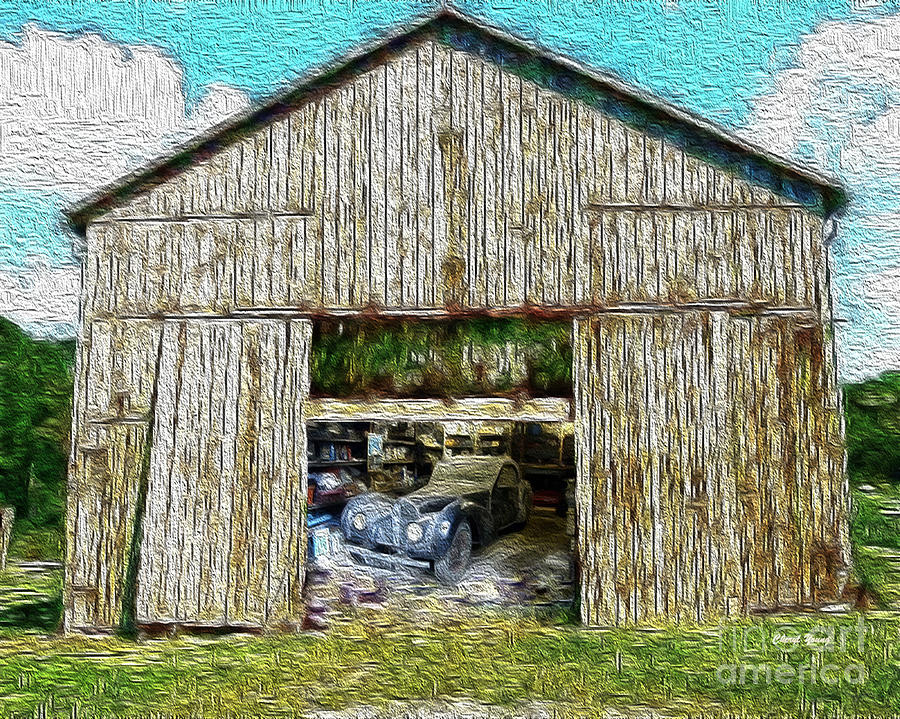 Old Barns Photograph - Barn Treasures by Cheryl Young