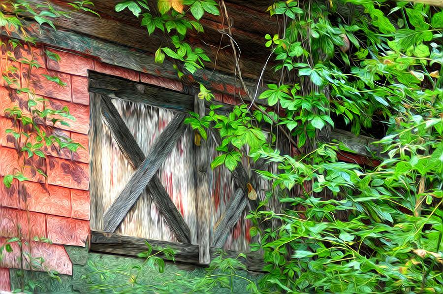 Barn Window Photograph