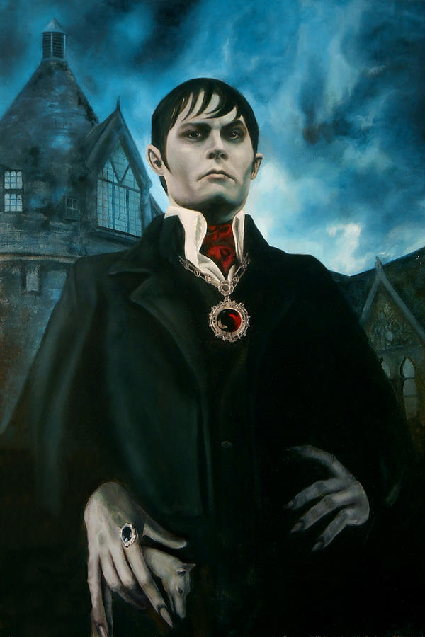 Barnabas Collins Portrait Painting