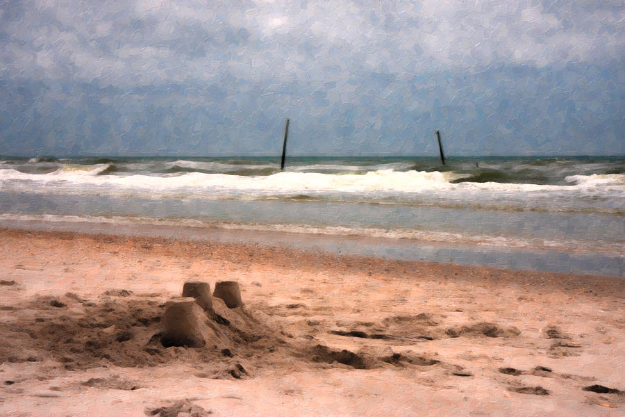 Barnacle Bills And The Sandcastle Digital Art