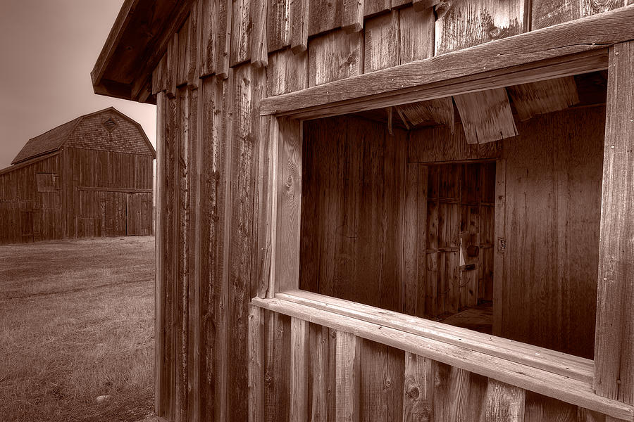 Barns Grand Tetons Photograph  - Barns Grand Tetons Fine Art Print