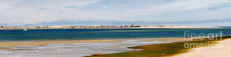 Barnstable Harbor Panorama Photograph  - Barnstable Harbor Panorama Fine Art Print