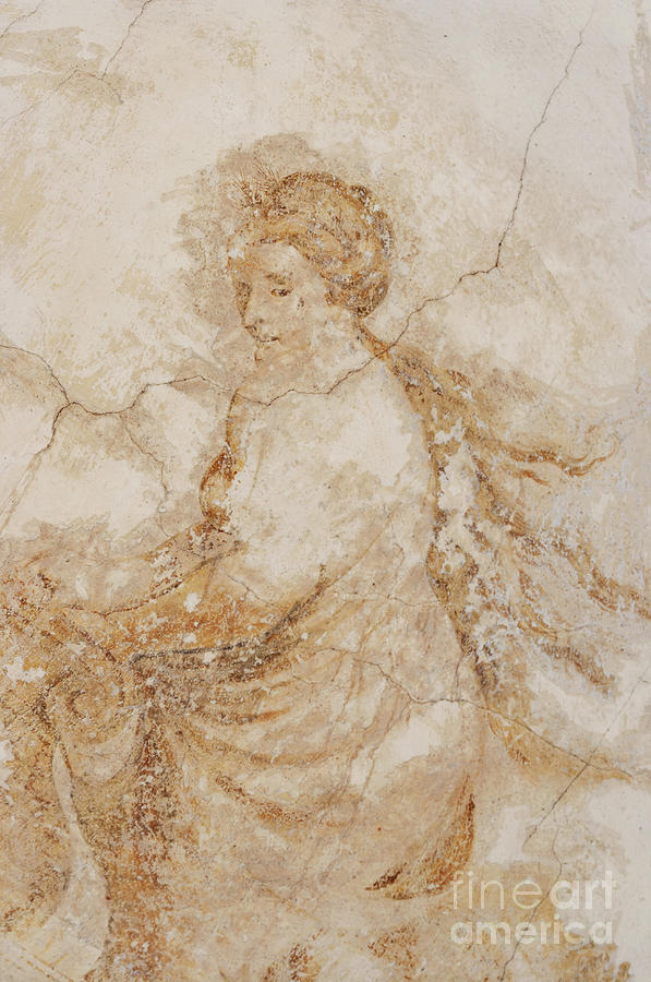 Baroque Mural Painting Photograph