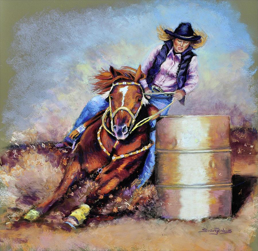 Barrel Rider Pastel
