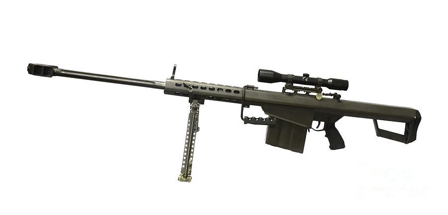 Barrett L82a1 Anti-materiel Rifle Photograph