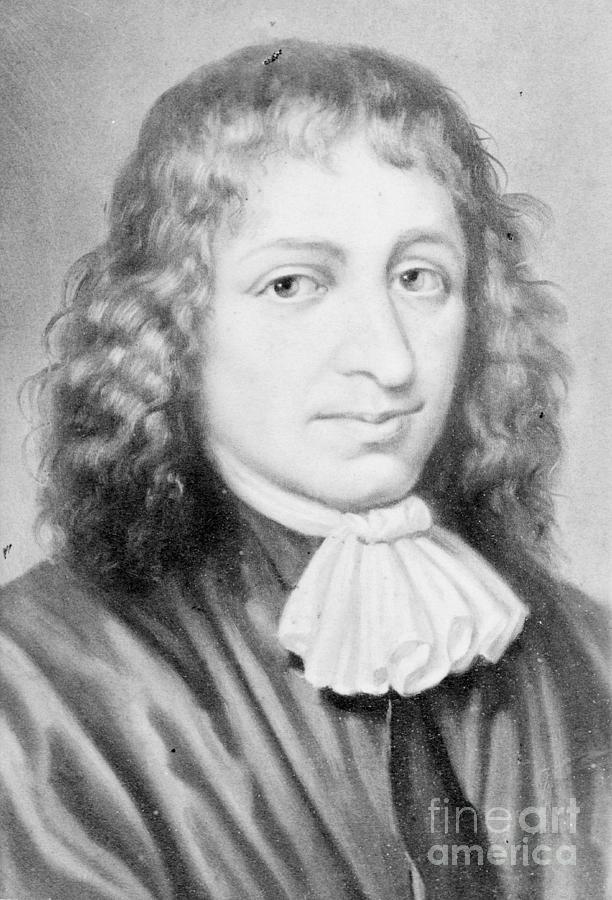 Baruch Spinoza, Jewish-dutch Philosopher Photograph