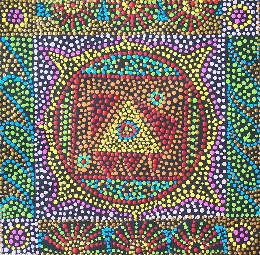 Base Chakra Painting