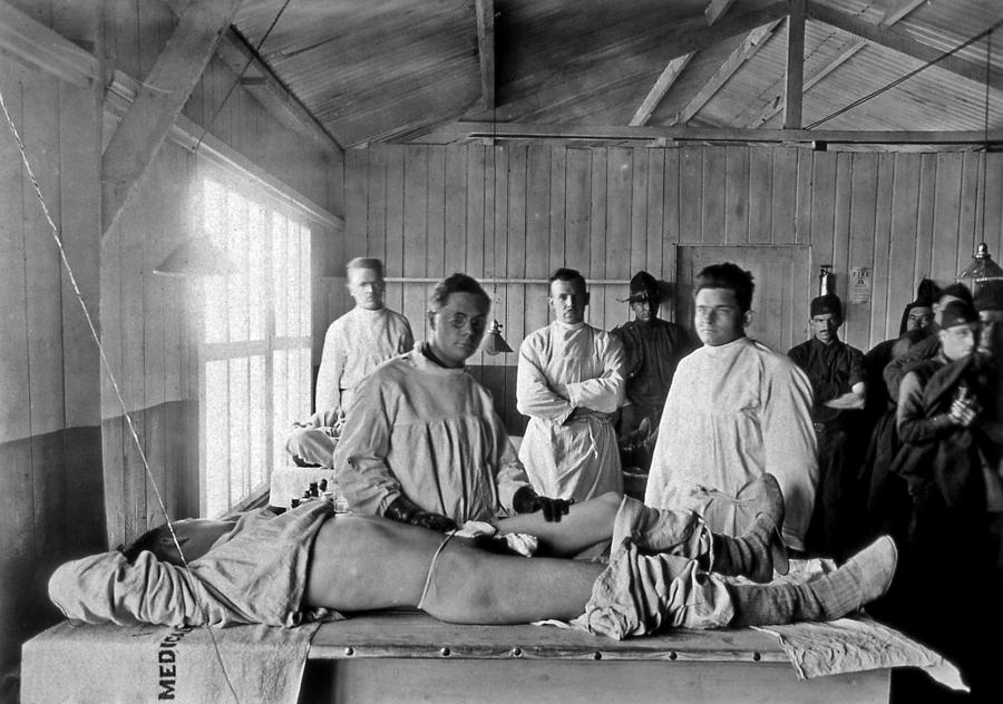 Base Hospital In World War I Photograph  - Base Hospital In World War I Fine Art Print