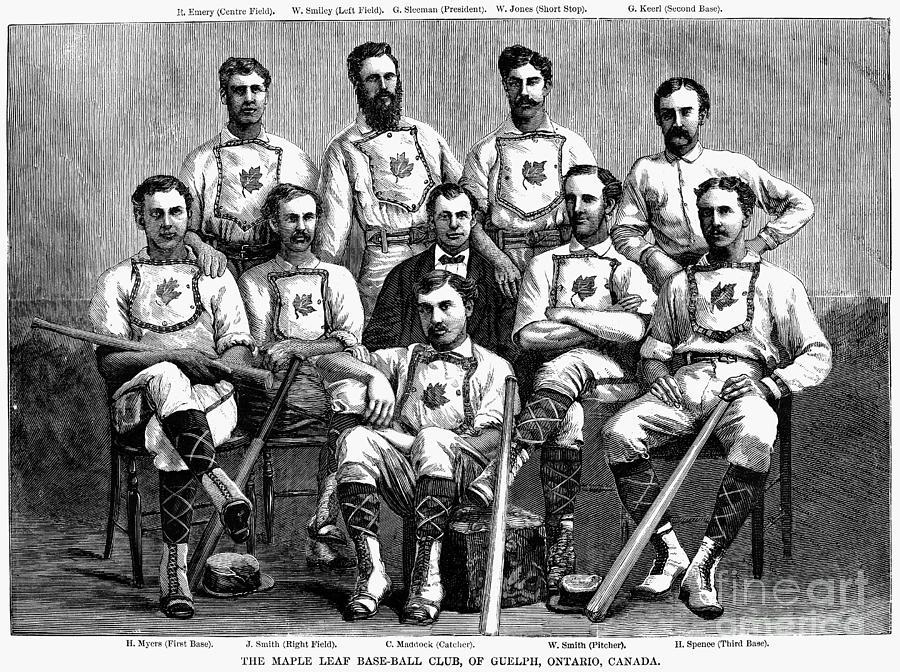 Baseball: Canada, 1874 Photograph