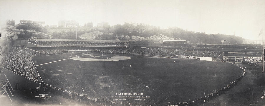Baseball Game, 1904 Photograph