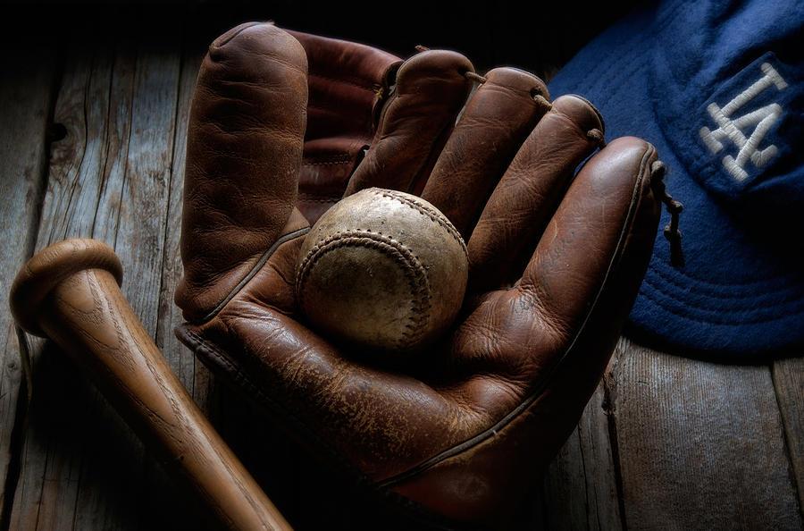 Baseball Glove Photograph