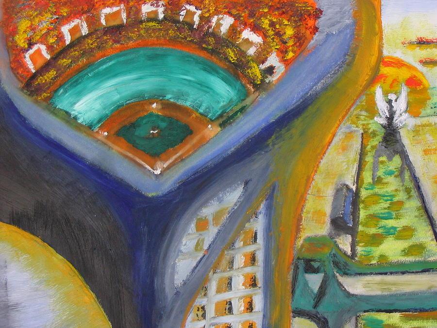 Baseball Heaven Painting