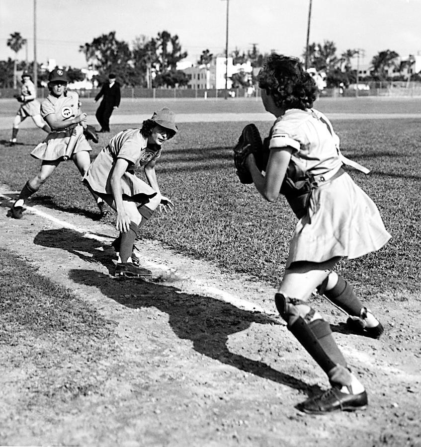 Baseball, Kenosha Comets Play Photograph