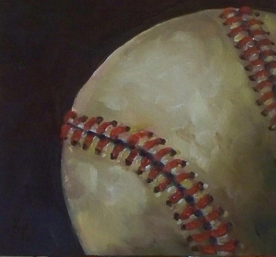 Baseball No. 3 Painting