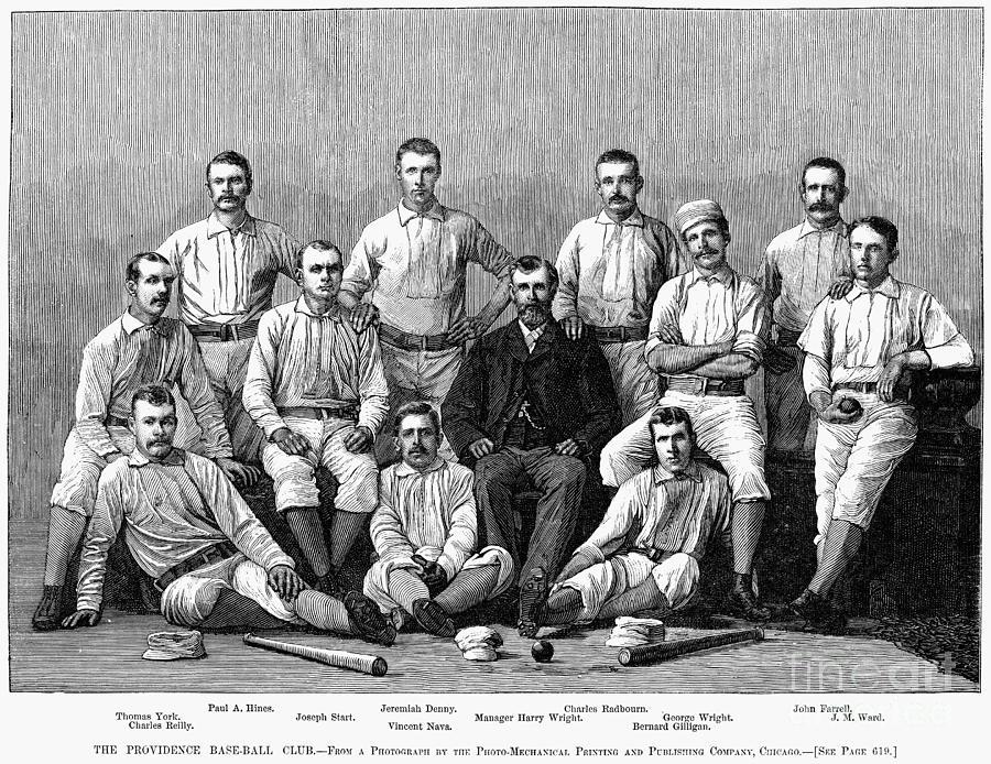 Baseball: Providence, 1882 Photograph