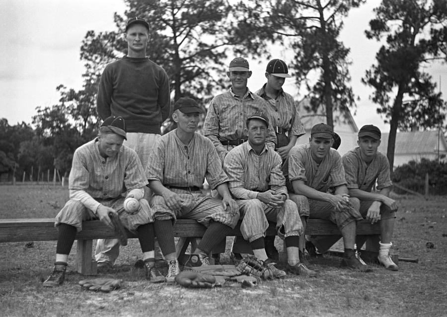 Baseball Team, 1938 Photograph