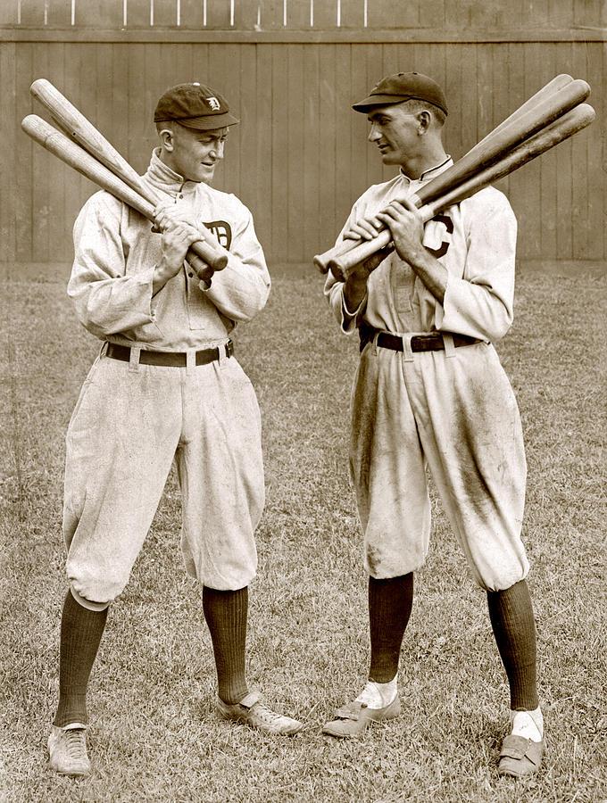 Baseball. Ty Cobb, Detroit Photograph